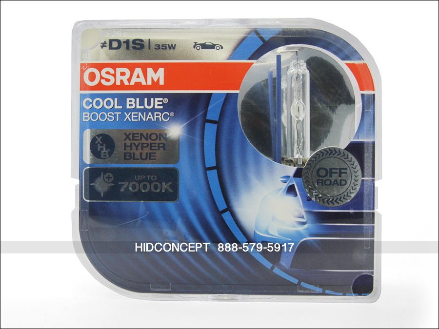 d1s osram 7000k cool blue boost hid xenon headlight bulbs. Black Bedroom Furniture Sets. Home Design Ideas