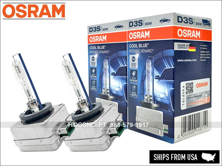 new osram d3s 6000k 66340 cbi hid xenon bulb audi vw ford. Black Bedroom Furniture Sets. Home Design Ideas