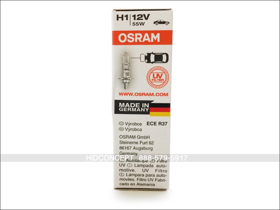 H1 Genuine Osram Original 64150 Halogen Bulb P14 5s 12v