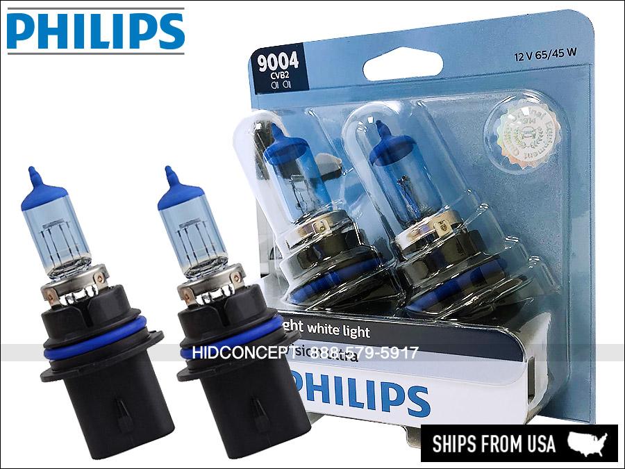 PHILIPS Crystal Vision Ultra Bulbs 9007 pair