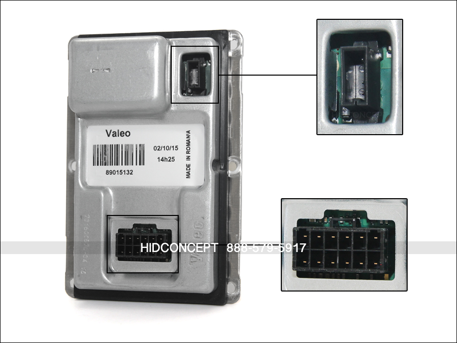 details about original valeo lad5g hid xenon ballast w 12 pin connector 89030469 (one unit) Emergency Ballast Wiring Diagram