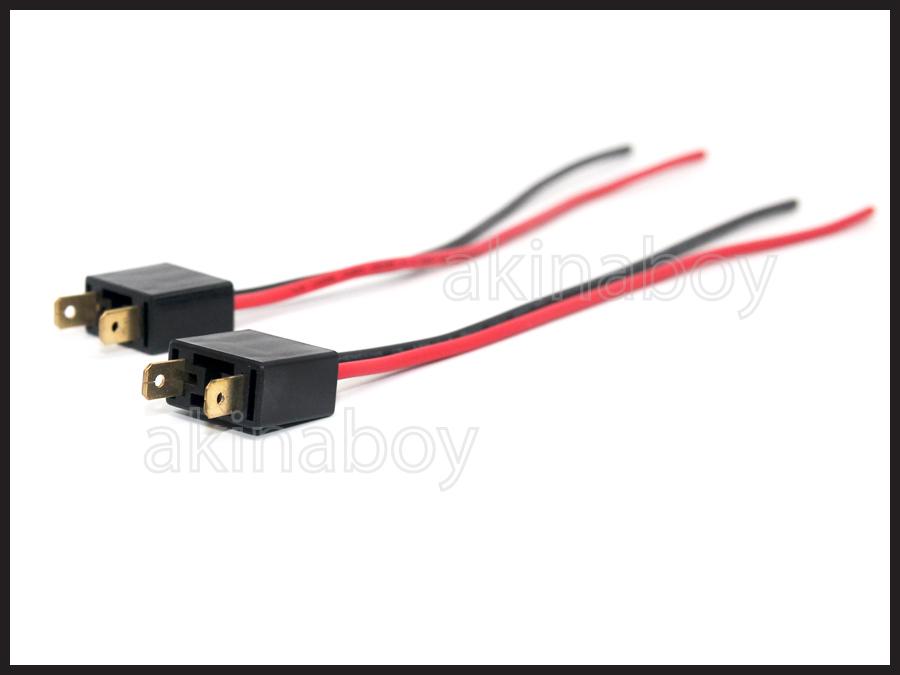 H7 Male wire harness connectors Plugs D2S/D2R HID xenon 635323883018 ...